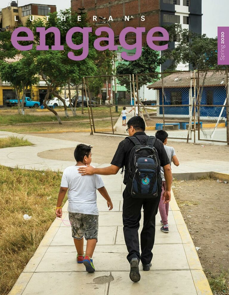 Cover Engage Spring 2020